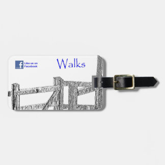 South Somerset Walks Tag For Bags