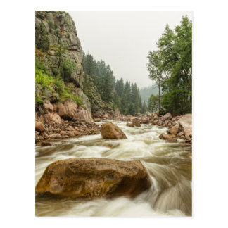 South St Vrain Canyon Boulder County Colorado Postcard