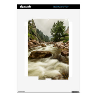 South St Vrain Canyon Portrait Boulder County CO Skins For The iPad 2