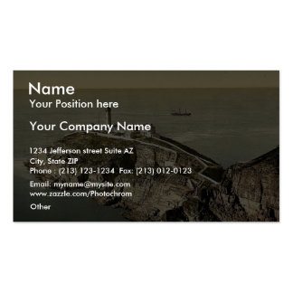 South Stack Lighthouse, Holyhead, Wales rare Photo Business Card Template