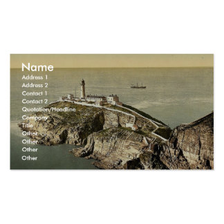 South Stack Lighthouse, Holyhead, Wales rare Photo Business Cards