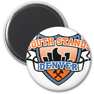South Stands Denver Fancast 2 Inch Round Magnet