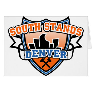 South Stands Denver Fancast Greeting Card