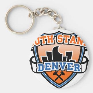 South Stands Denver Fancast Keychain