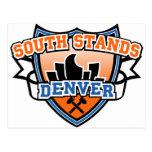South Stands Denver Fancast Post Cards