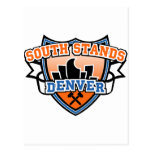 South Stands Denver Fancast Postcard