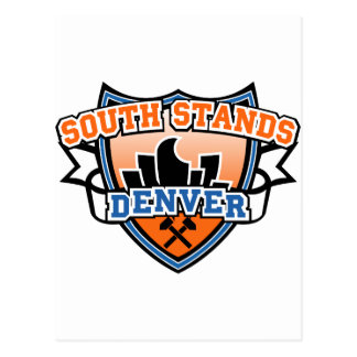 South Stands Denver Fancast Postcard