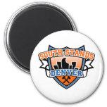 South Stands Denver Fancast Refrigerator Magnet