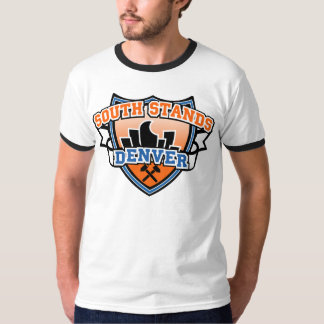 South Stands Denver Fancast Ringer T-Shirt
