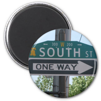 South Street - Philadelphia 2 Inch Round Magnet