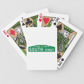 South Street, Philadelphia, PA Street Sign Deck Of Cards