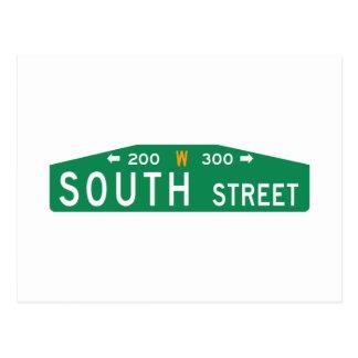 South Street, Philadelphia, PA Street Sign Postcard