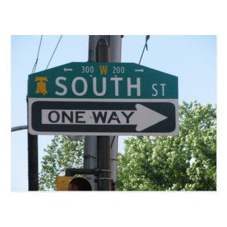 South Street - Philadelphia Postcard