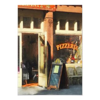 South Street Seaport Pizzeria Card