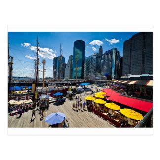South Street Seaport Postcard