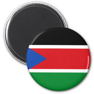 south sudan 2 inch round magnet