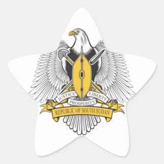 south sudan coat arms star sticker