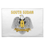 South Sudan Coat Of Arms Placemat