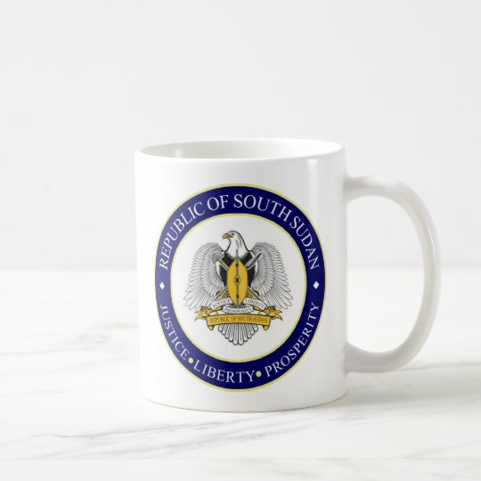 south sudan emblem coffee mug