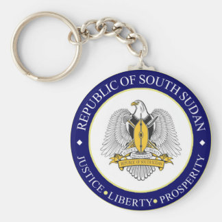 south sudan emblem keychain