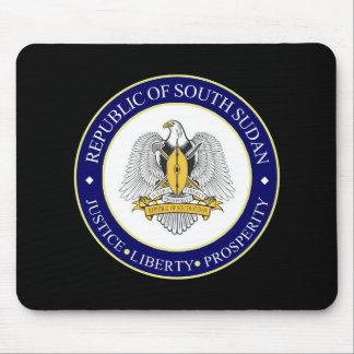 south sudan emblem mouse pad