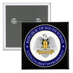 south sudan emblem pin