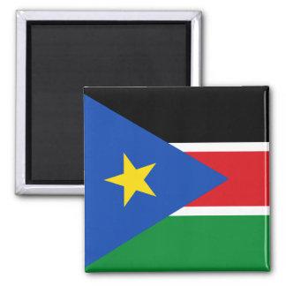 south sudan flag 2 inch square magnet