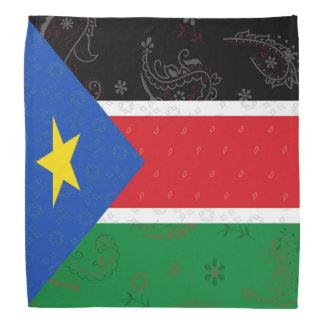 South Sudan Flag Bandana