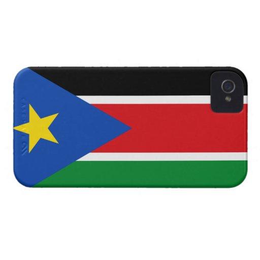 South Sudan Flag Case-Mate iPhone 4 Cases