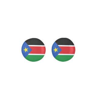 South Sudan Flag Earrings