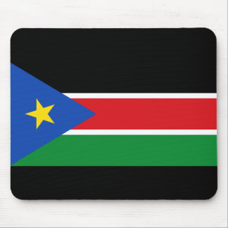 south sudan flag mouse pad
