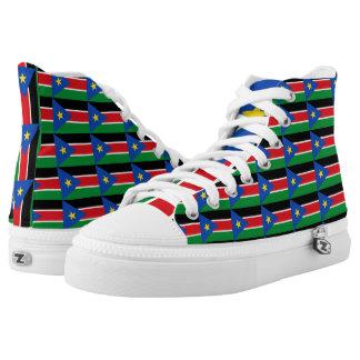 South Sudan Flag -.png High-Top Sneakers