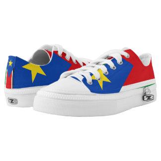 South Sudan Flag -.png Low-Top Sneakers