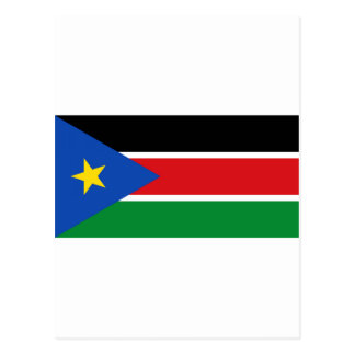 South Sudan Flag Post Cards