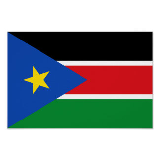 South Sudan Flag Poster