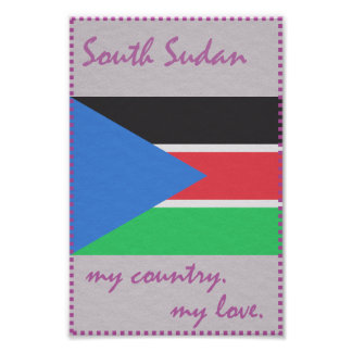 South Sudan My Country My Love Poster