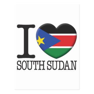 South Sudan Postcard
