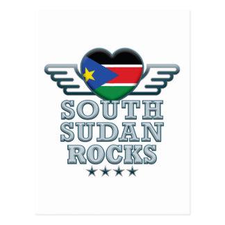 South Sudan Rocks v2 Postcard