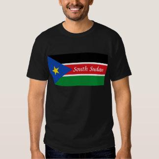 south sudan text tee shirt