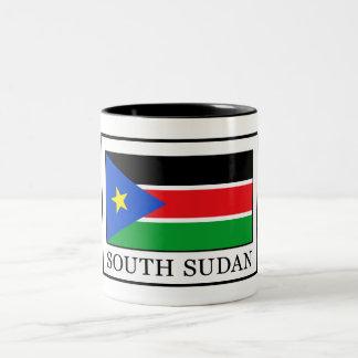South Sudan Two-Tone Coffee Mug