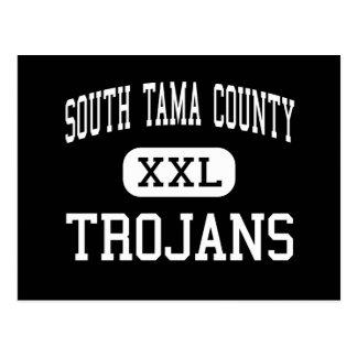 South Tama County - Trojans - High - Tama Iowa Postcard