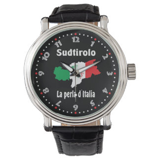 South Tyrol - Alto Adige - Italy - Italia clock Wristwatch