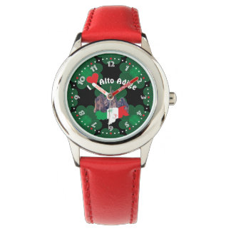 South Tyrol - Alto Adige - Italy - Italia clock Wristwatches