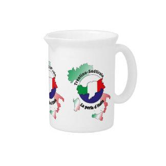 South Tyrol - Alto Adige - Italy - Italia jug Drink Pitchers