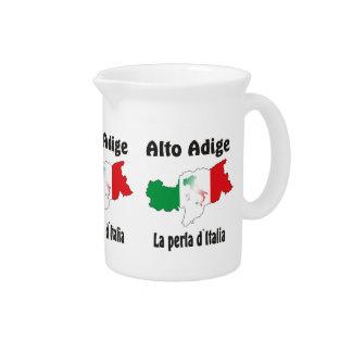South Tyrol - Alto Adige - Italy - Italia jug Beverage Pitchers