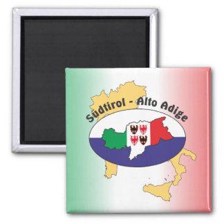 South Tyrol - Alto Adige - Italy - Italia magnet