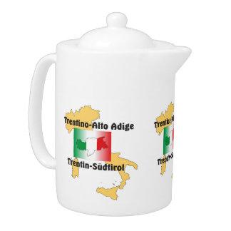 South Tyrol - Alto Adige - Italy - Italia teapot