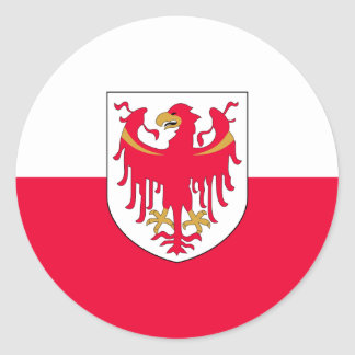 South Tyrol, Italy Classic Round Sticker