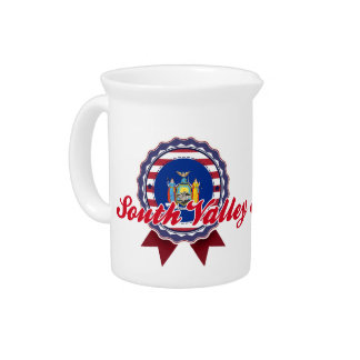 South Valley, NY Beverage Pitcher