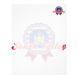 South Valley, NY Letterhead Template